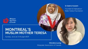 Chat with Montreal's Muslim Mother Teresa, Sister Sabariah Hussein